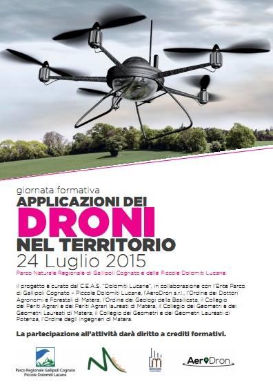 corso droni parco gallipoli